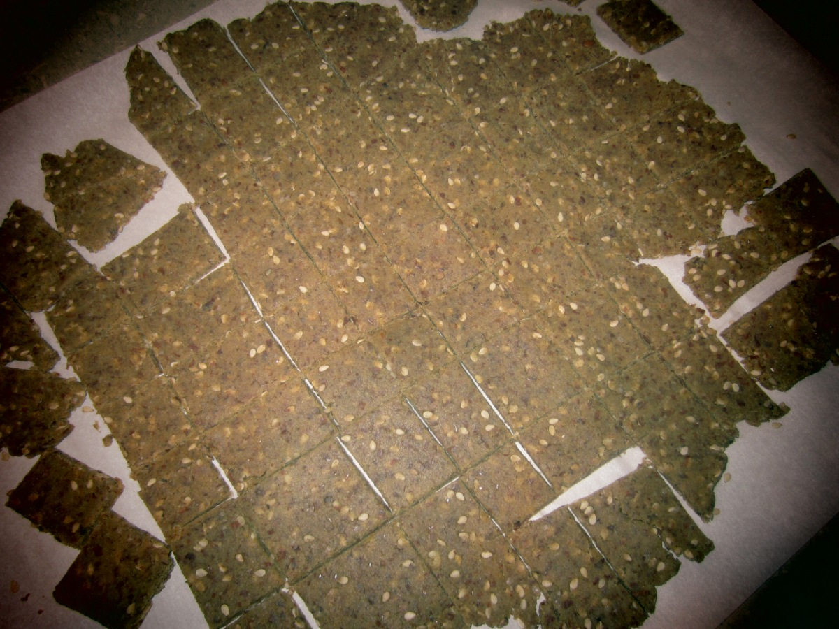 Homemade Gluten Free Crackers
