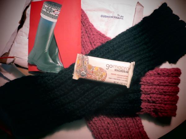 20131127 snail mail scarf