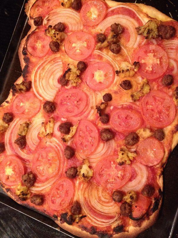 2015-2-16 Vegan Lenten Cheesefare Pizza Week2
