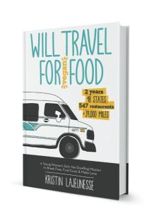 Will Travel For Vegan Food is available now at Amazon.com!