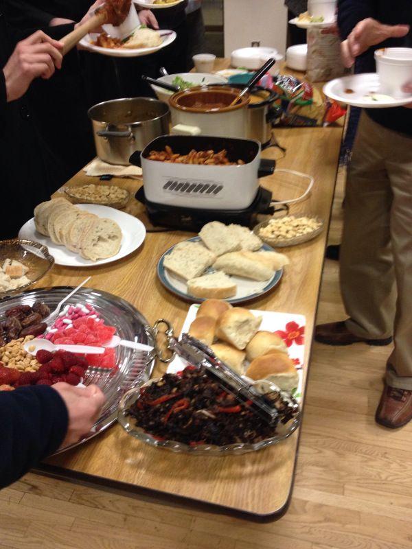 2015-2-26 Lenten Potluck Vegan