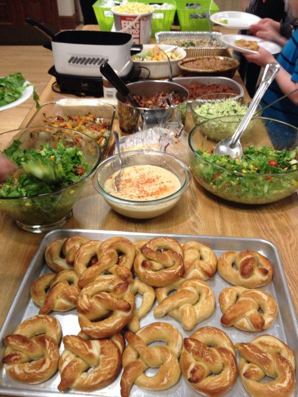 2015-3-19 Lenten Potluck Vegan