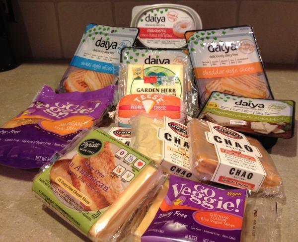 Non-Dairy Vegan Cheese