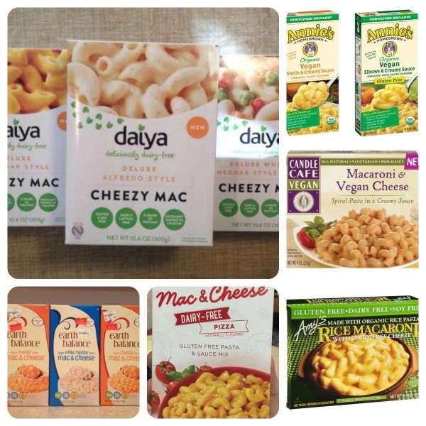 Vegan Boxed Macaroni and Cheese