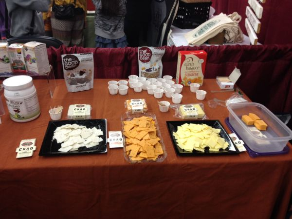 Grand Rapids VegFest Harvest Health Chao Cheese