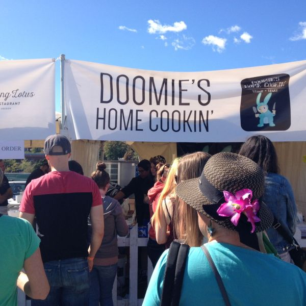 Doomie's at Portland Vegan Beer and Food Festival