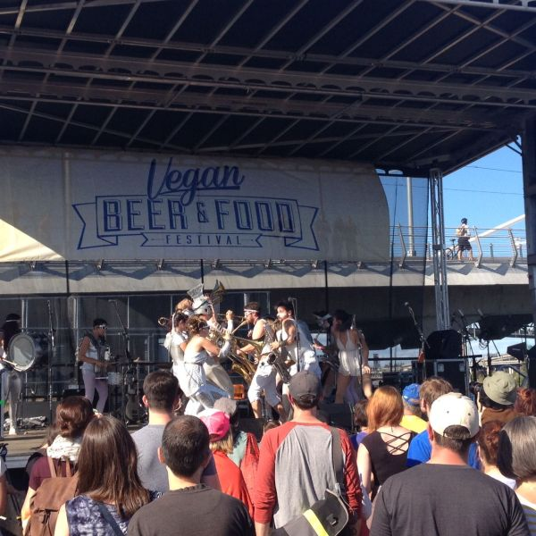Go Go Marching Band at Portland Vegan Beer & Food Festival
