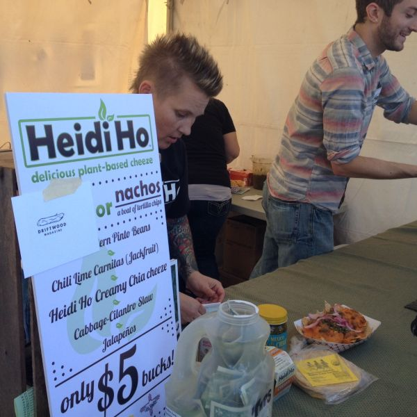 Heidi Ho at Portland Vegan Beer & Food Festival
