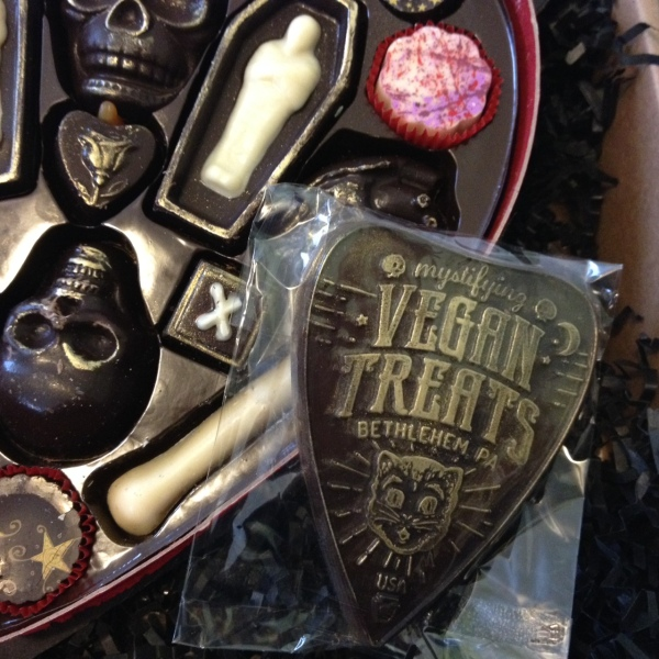 Fatally Yours Chocolate Planchette by Vegan Treats