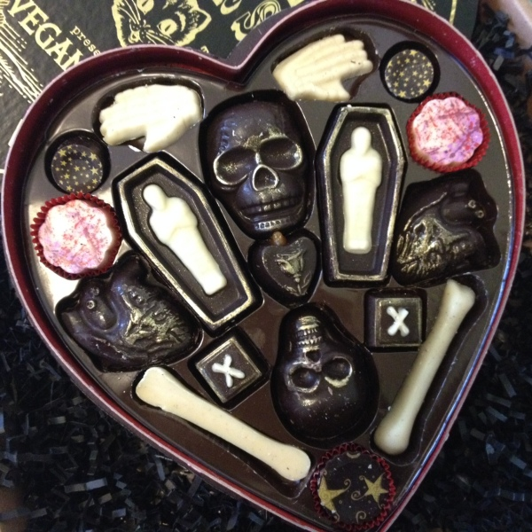 Fatally Yours Chocolates by Vegan Treats
